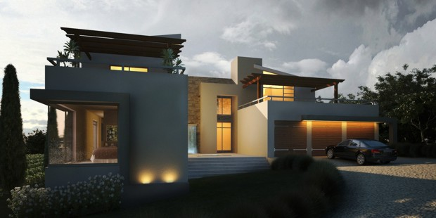 Architects of modern residential houses of the cape south for Modern residential house